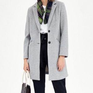 Zara Super Soft Coat Light Gray XS